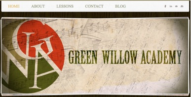 green willow academy home page banner