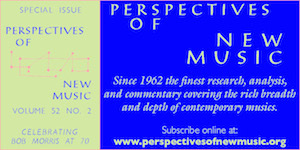 Perspectives of New Music