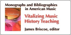 Vitalizing Music History Teaching