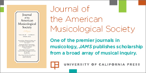 Journal of the American Musicology Society
